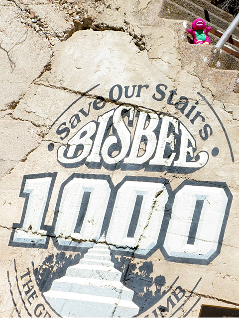 1000 Stair Steps Bisbee Arizona
